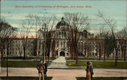 Main Building of University of Michigan