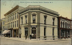Corner of Centre and Peterboro Streets Postcard