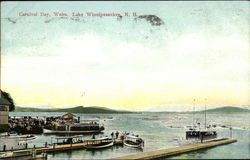 Carnival Day, Lake Winnipesaukee Postcard