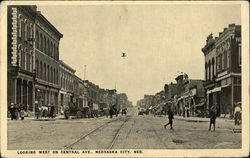 Looking West on Central Ave., Nebraska City