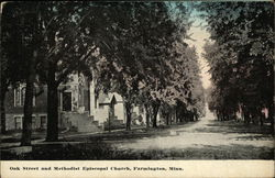 Oak Street and Methodist Episcopal Church