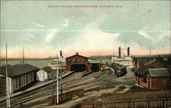 Railroad Yard and Steamboat Docks