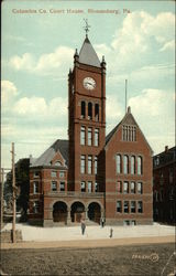 Columbia County Court House Postcard
