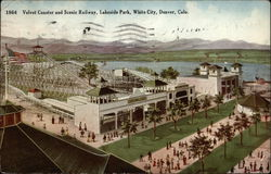 Velvet Coaster and Scenic Railway, Lakeside Park, White City