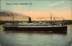 Steamer Lenape on the Water