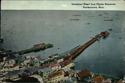 Steamboat Wharf from Pilgrim Monument