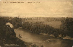 C. & E.I. Bridge and Okaw River