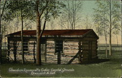 Theodore Roosevelt's Cabin Capitol Grounds