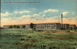 United Shoe Machine Company, General View