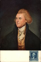 Thomas Jefferson - Portrait by Charles Wilson Peale
