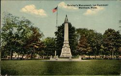 Soldier's Monument on the Common