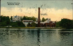 Water View of Pumping Station