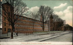 Waltham Watch Company's Factory