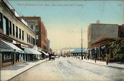 Elm Street and Davis Square