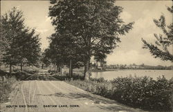 South End Drive, Bantam Lake