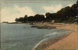 Beach Scene at the Montowese, Indian Neck