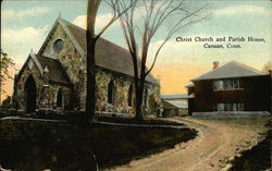 Christ Church and Parish House Postcard