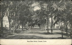 West Main Street Postcard