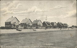 WT Woolley's Cottages along the Shore