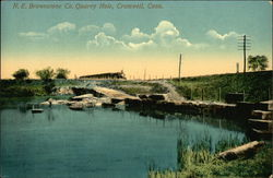 NE Brownstone Company Quarry Hole