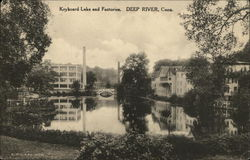 Water View of Keyboard Lake and Factories