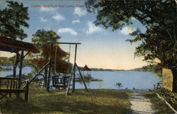 Golden Spur Park With Lake View