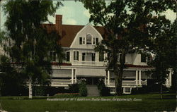 Belle Haven - Residence of W. T. Graham Postcard