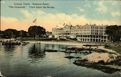 Eastern Point, The Griswold, View from the Rocks