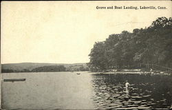 Grove and Boat Landing