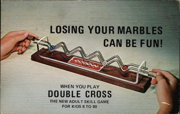 Double Cross Game Advertising