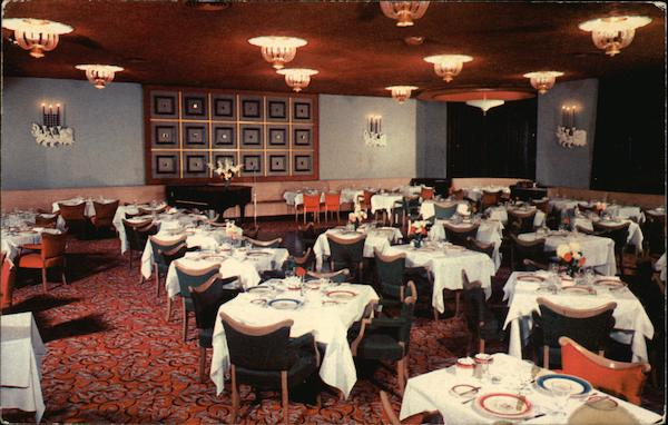 Charterhouse Restaurant, Somerset Hotel Boston Massachusetts