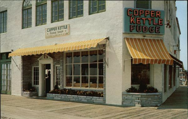 Copper Kettle Fudge Shop Ocean City New Jersey