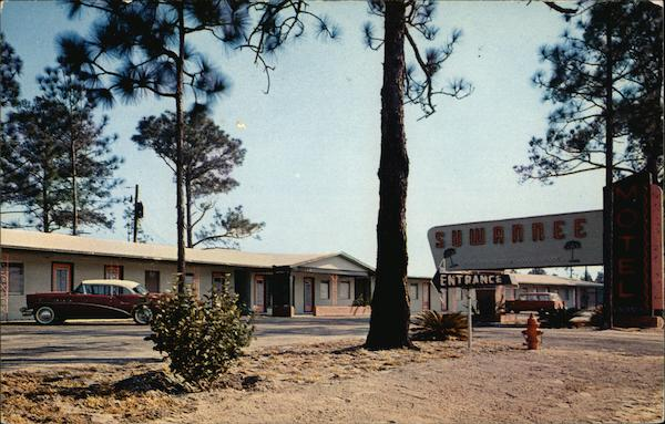 View of Suwannee Motel Folkston Georgia