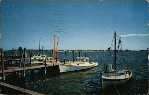 Clinton Harbor Connecticut Boats, Ships