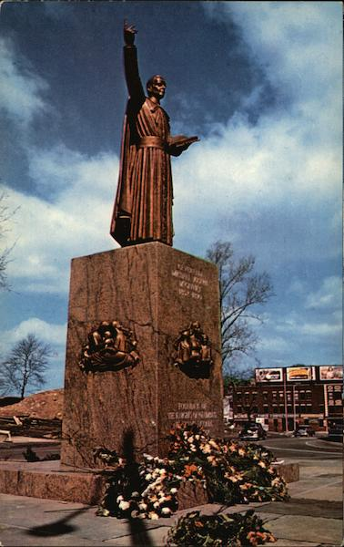 Statue of Reverend Michael J. McGivney Waterbury Connecticut