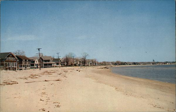 West Beach Looking East Westbrook Connecticut