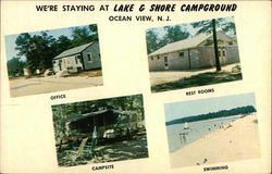 We're Staying At Lake And Shore Campground