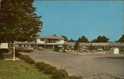 Wheatland Motel Postcard