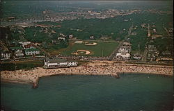 Aerial View of Falmouth Heights Beach
