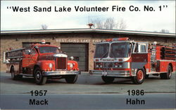 West Sand Lake Volunteer Fire Co. No. 1