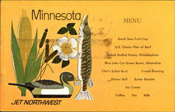 Jet Northwest Menu - Minnesota