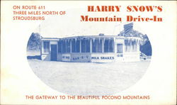 Harry Snow's Mountain Drive-In