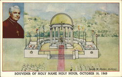 Souvenir of Holy Name Holy Hour, October 16, 1949