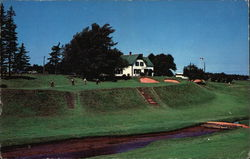 The Picturesque 9th Green at Green Gables Golf Course Postcard