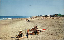 Rexhame Beach Postcard