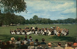 View of USMA Band concert during Graudation Exercises