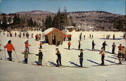 Ski Instructors and Students, Mt. Snow