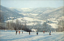 Thunder Mountain Ski Area Postcard