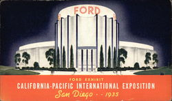Ford Exhibit, California-Pacific International Exposition, San Diego 1935