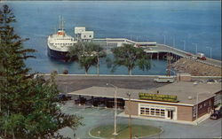 Bar Harbor Ferry Terminal, MV Bluenose at Dock